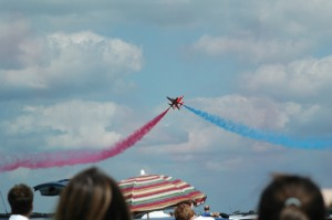 Red Arrows Crossing